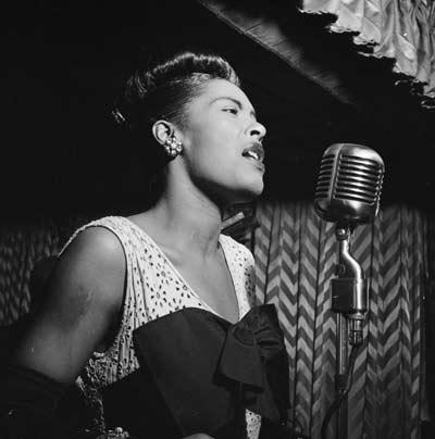 Billie Holiday, Downbeat, New York, N.Y., ca. Feb. 1947