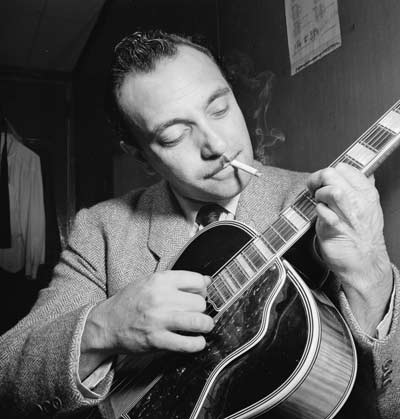 Django Reinhardt, Aquarium, New York, N.Y., ca. Nov. 1946