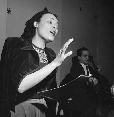 Lena Horne, New York, N.Y., between 1946 and 1948