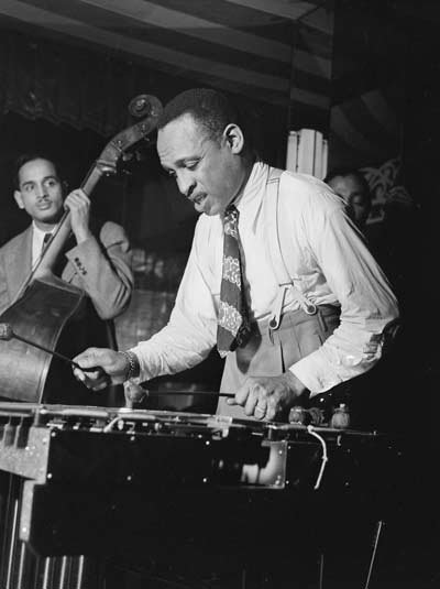 Lionel Hampton, Aquarium, New York, N.Y., ca. June 1946